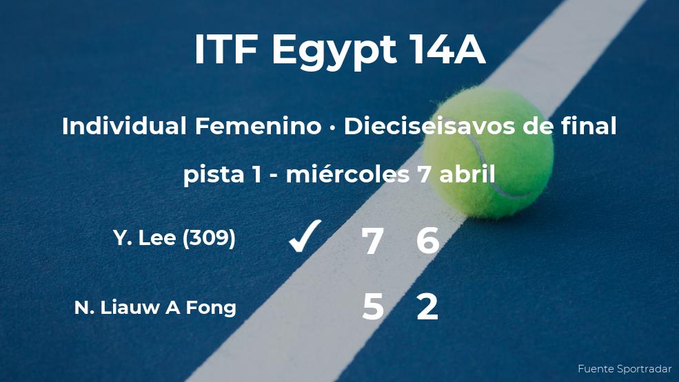 La tenista Ya-Hsuan Lee pasa a los octavos de final del torneo de Sharm El Sheikh