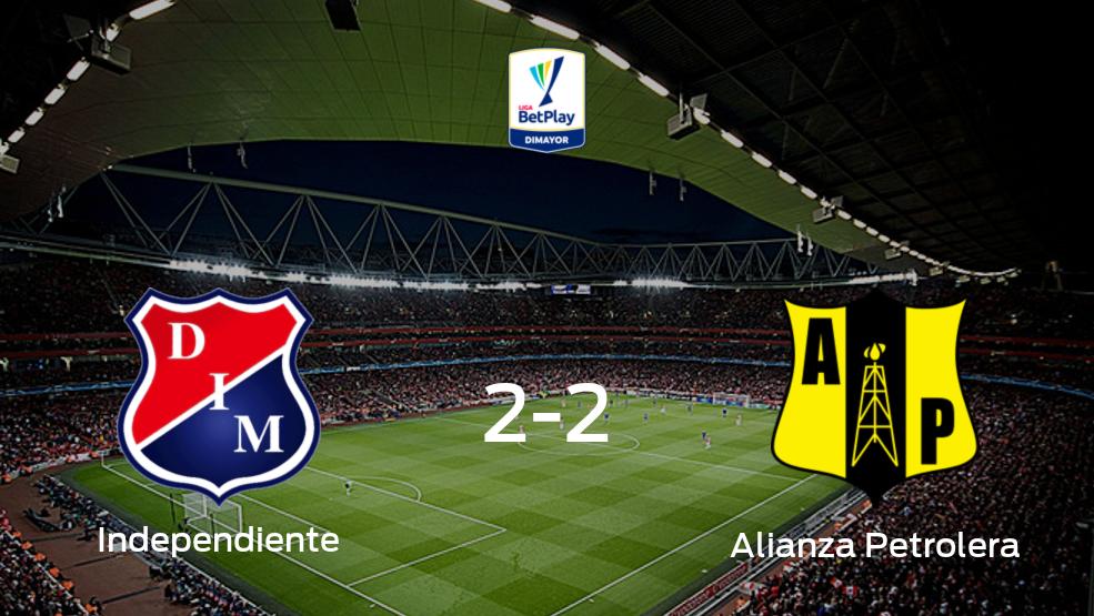 Independiente Medellin - Alianza Petrolera (2-2): Mira cómo fue su choque en el Atanasio Girardot durante la jornada 18