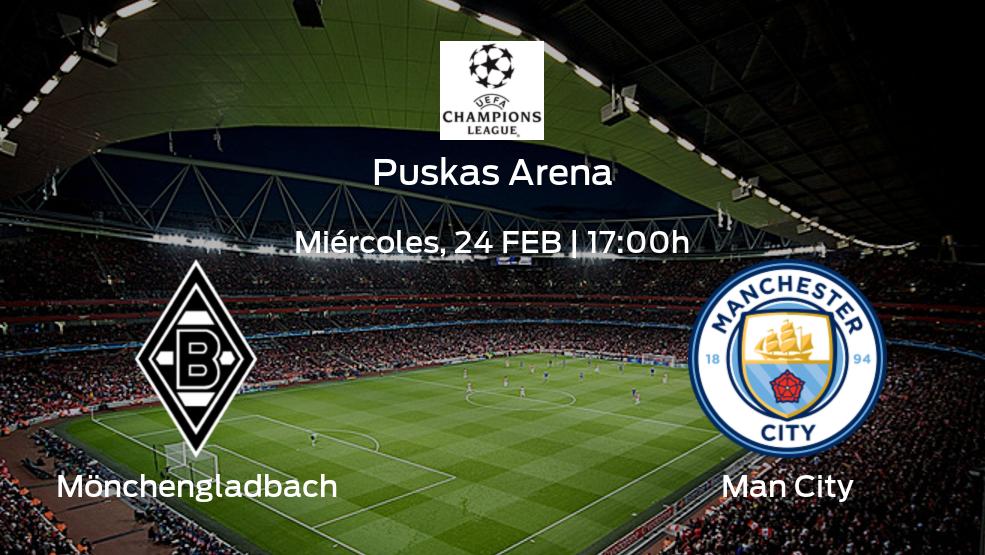 Jornada 1 de la fase de grupos de la Champions League: previa del duelo Borussia Mönchengladbach - Manchester City