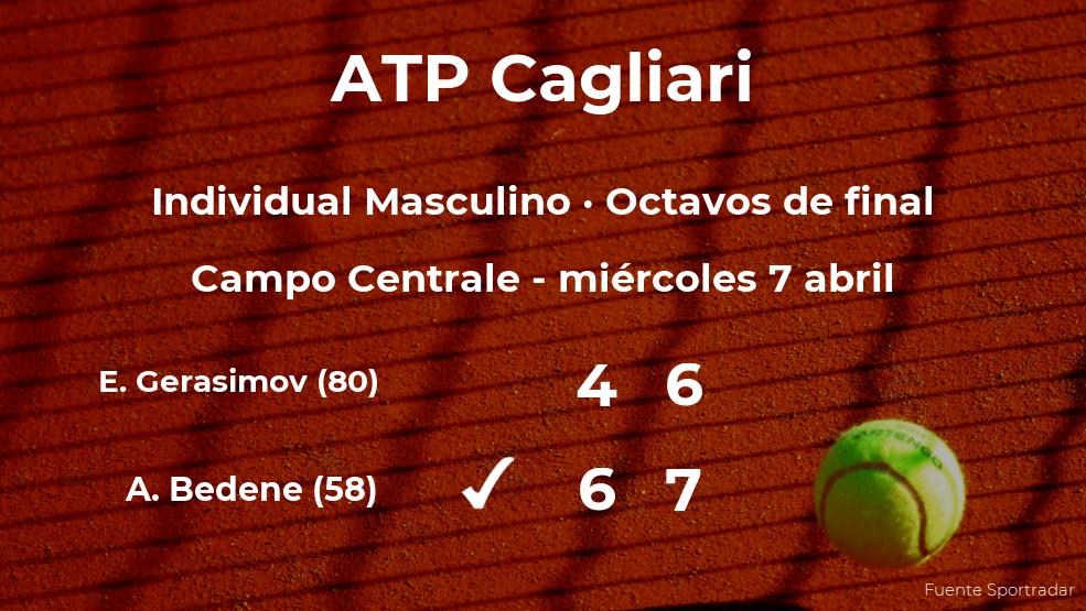 Aljaz Bedene consigue clasificarse para los cuartos de final del torneo ATP 250 de Cagliari