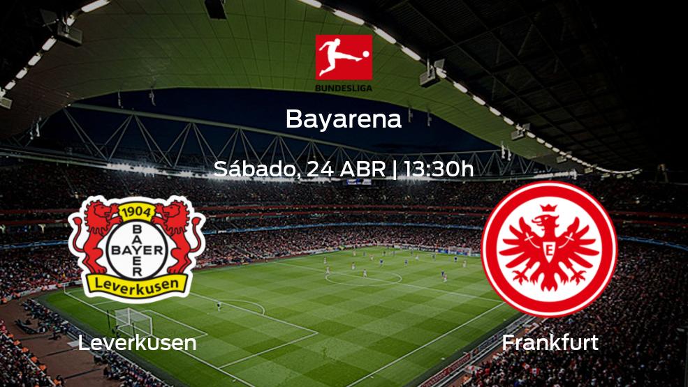 Leverkusen vs Frankfurt   Horario, alineaciones y detalles de su partido de la jornada 31