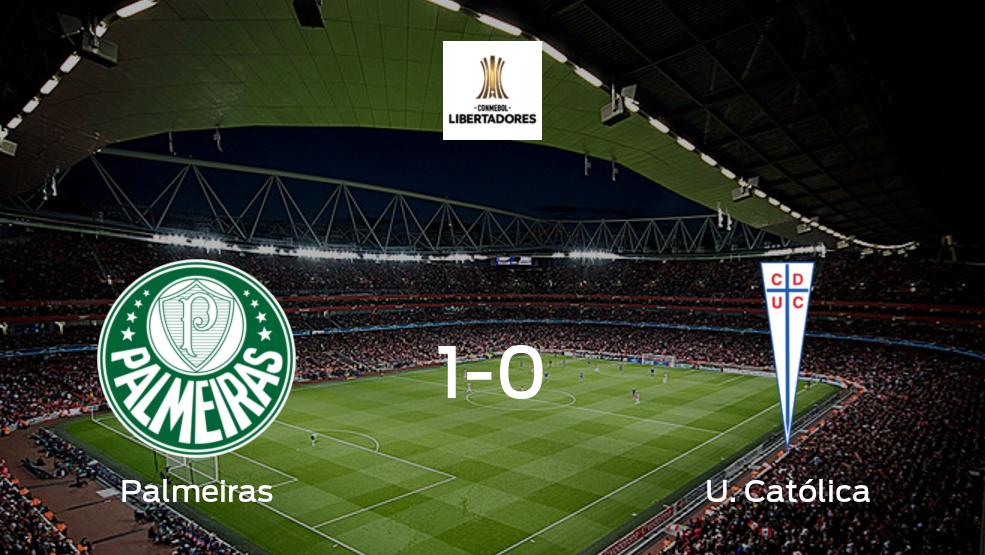Palmeiras - U. Católica: Resumen, Resultados, Goles, Tarjetas del partido de la Copa Libertadores