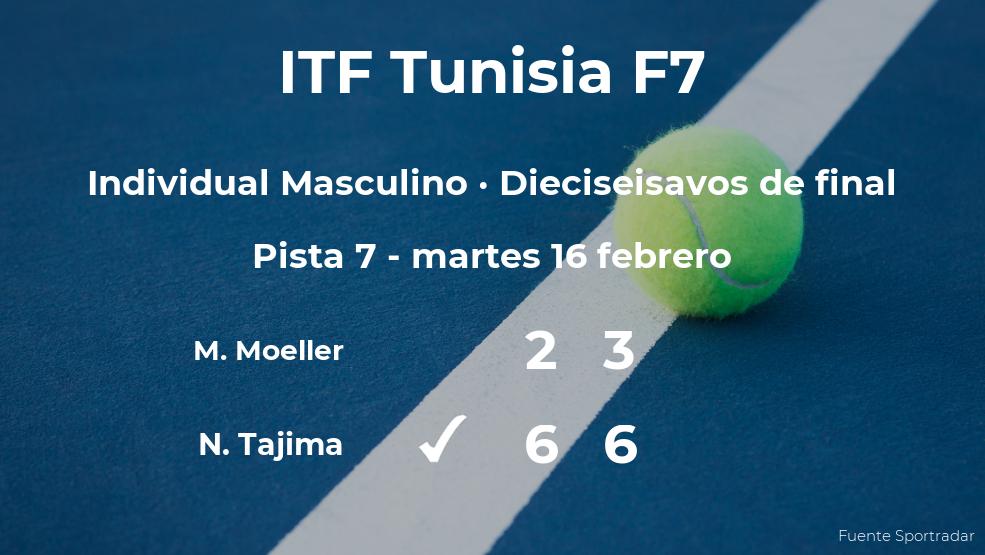 Naoki Tajima estará en los octavos de final del torneo de Monastir