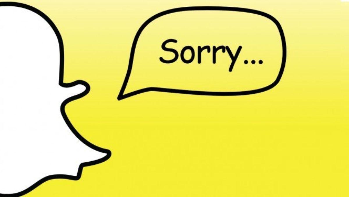 Snapchat sufrió una fuerte caída este miércoles.