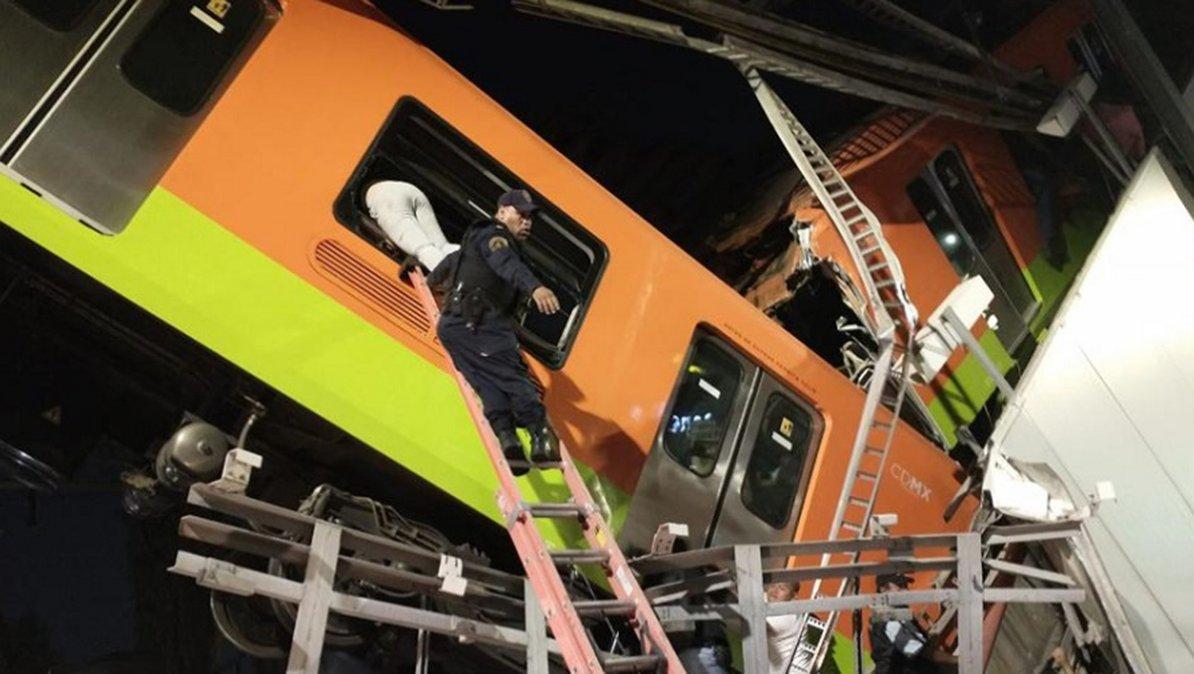 El siniestro e CDMX requirió la presencia de alrededor de 40 ambulancias