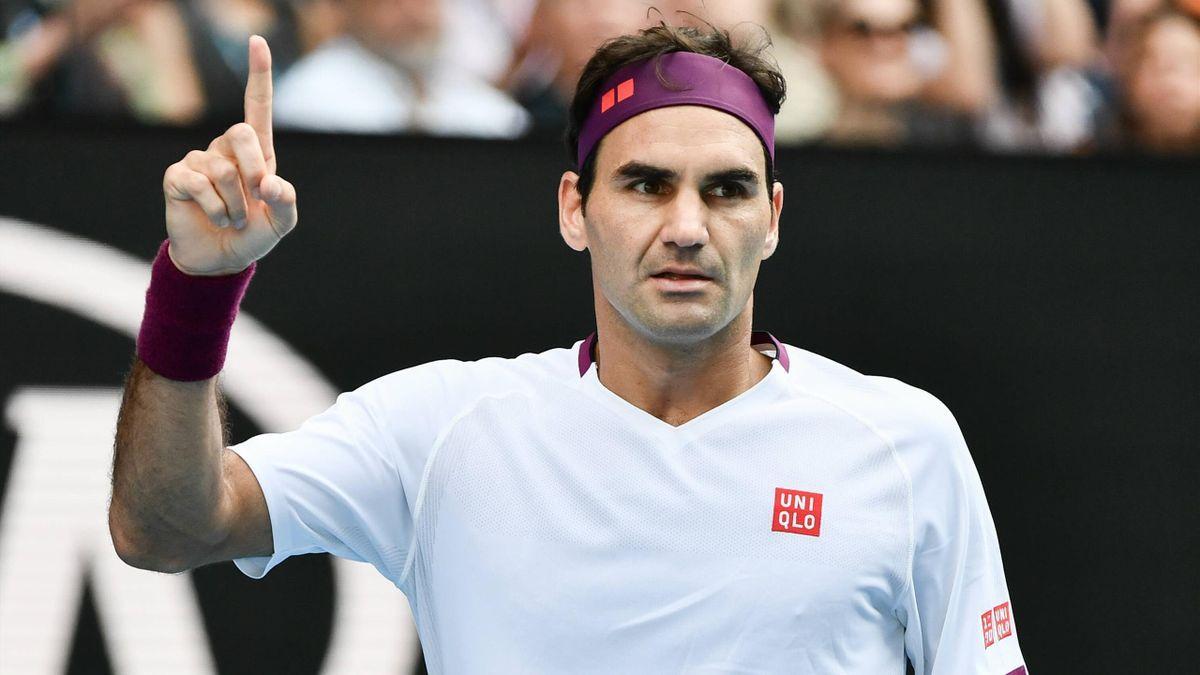 Roger Federer es un famoso tenista