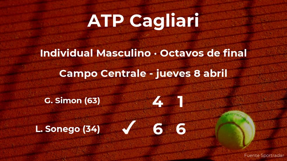 Lorenzo Sonego consigue clasificarse para los cuartos de final del torneo ATP 250 de Cagliari