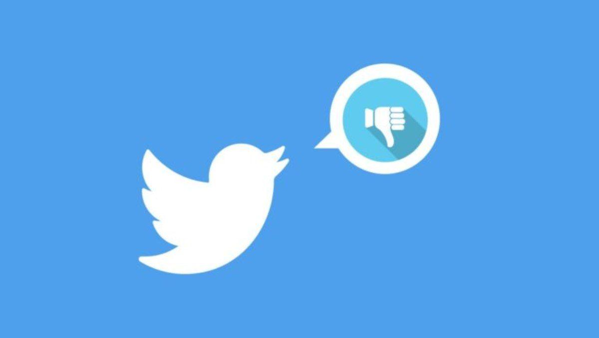 Twitter será la primera de las grandes redes sociales con la opción de No me gusta.