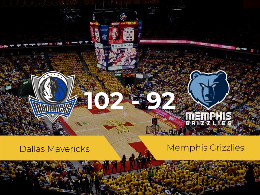 Dallas Mavericks logra ganar a Memphis Grizzlies (102-92)