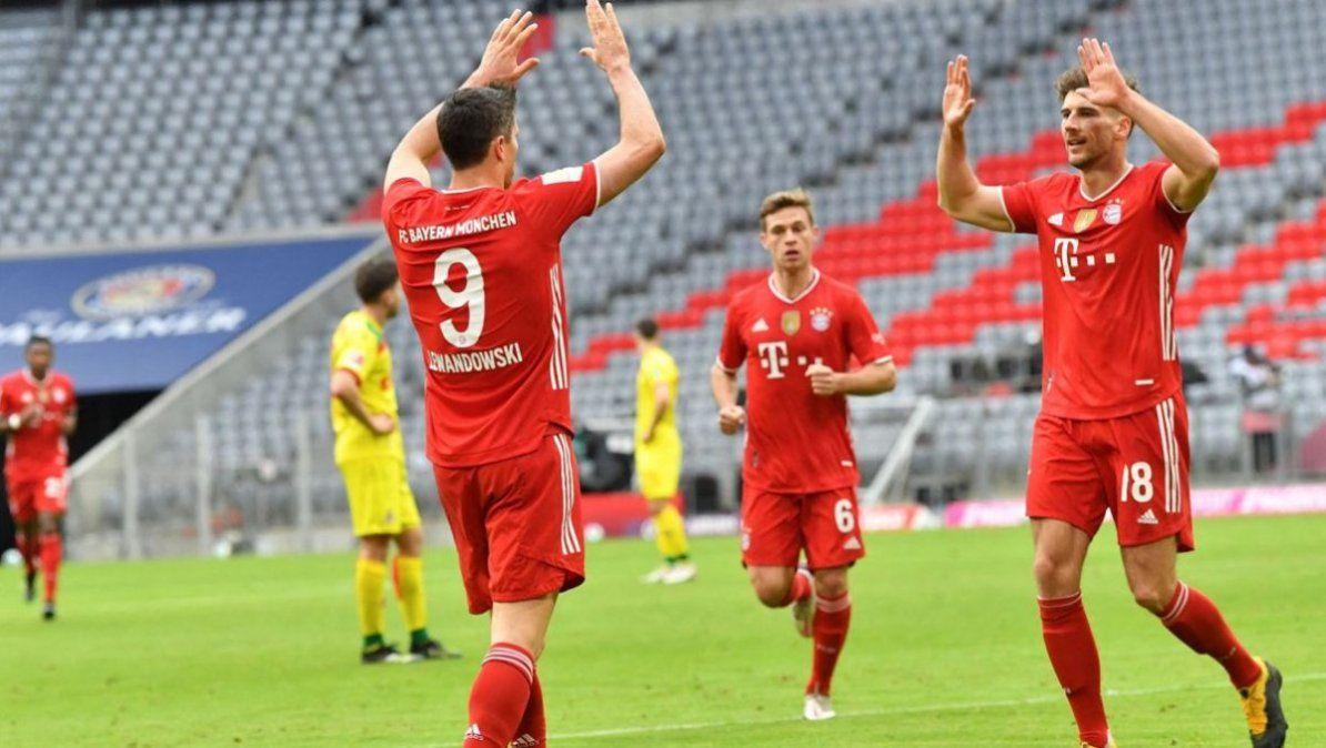 Bayern de Múnich da golpe de autoridad ante el Dortmund