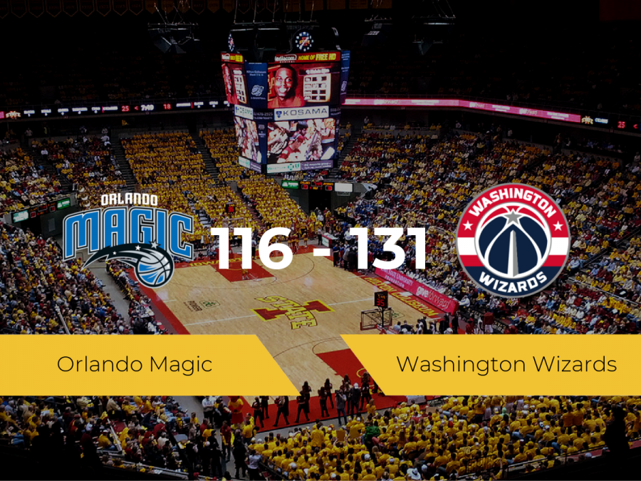 Washington Wizards se impone por 116-131 frente a Orlando Magic