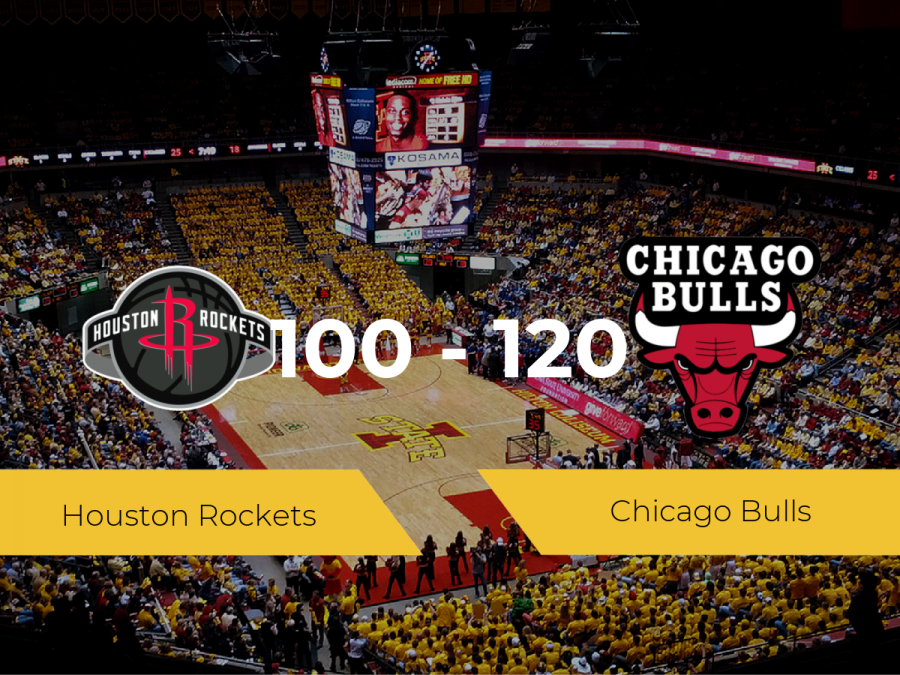 Victoria de Chicago Bulls ante Houston Rockets por 100-120
