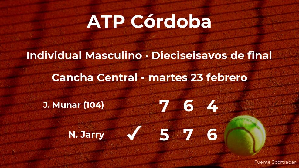 Jaume Munar cae eliminado en los dieciseisavos de final del torneo ATP 250 de Córdoba