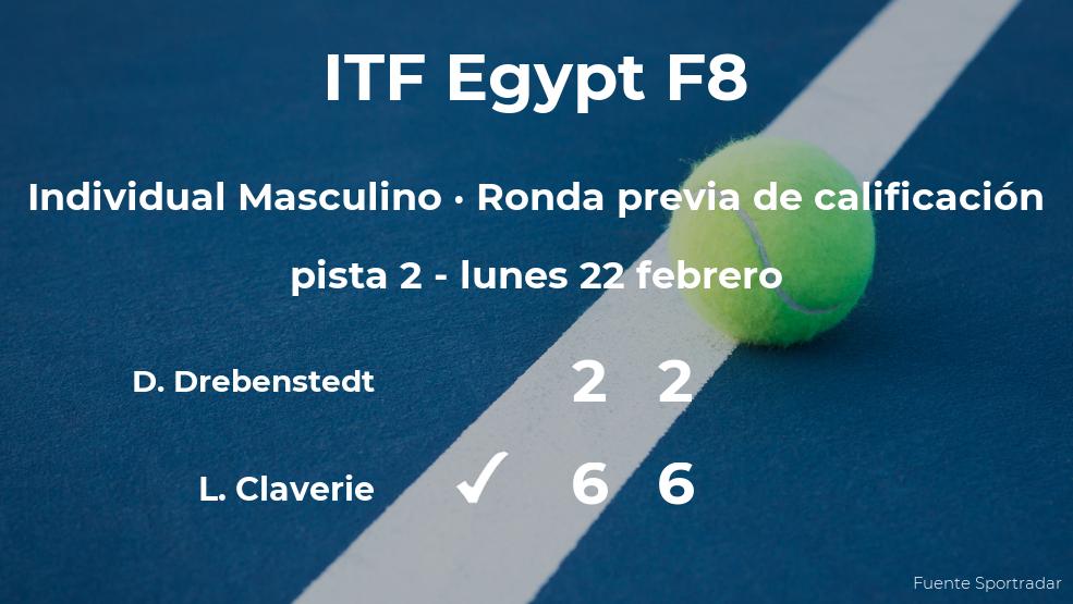 Victoria para el tenista Lorenzo Claverie en la ronda previa de calificación