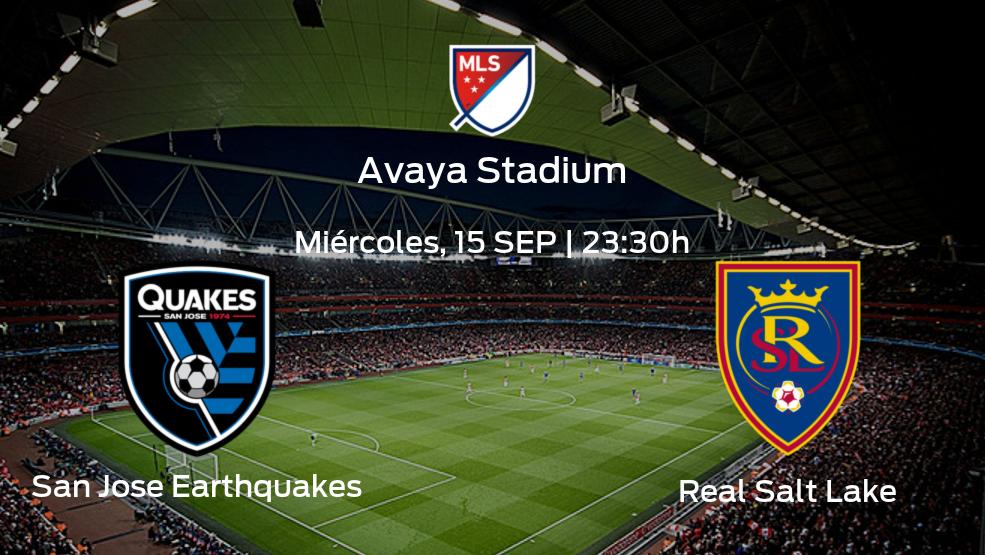 San Jose Earthquakes vs Real Salt Lake: Comprueba las alineaciones y horarios de este partido aquí