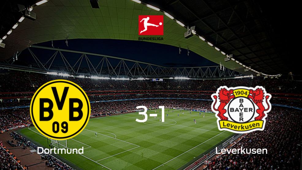 Borussia Dortmund - Bayer Leverkusen: Resumen, Resultados, Goles, Tarjetas del partido de la Bundesliga