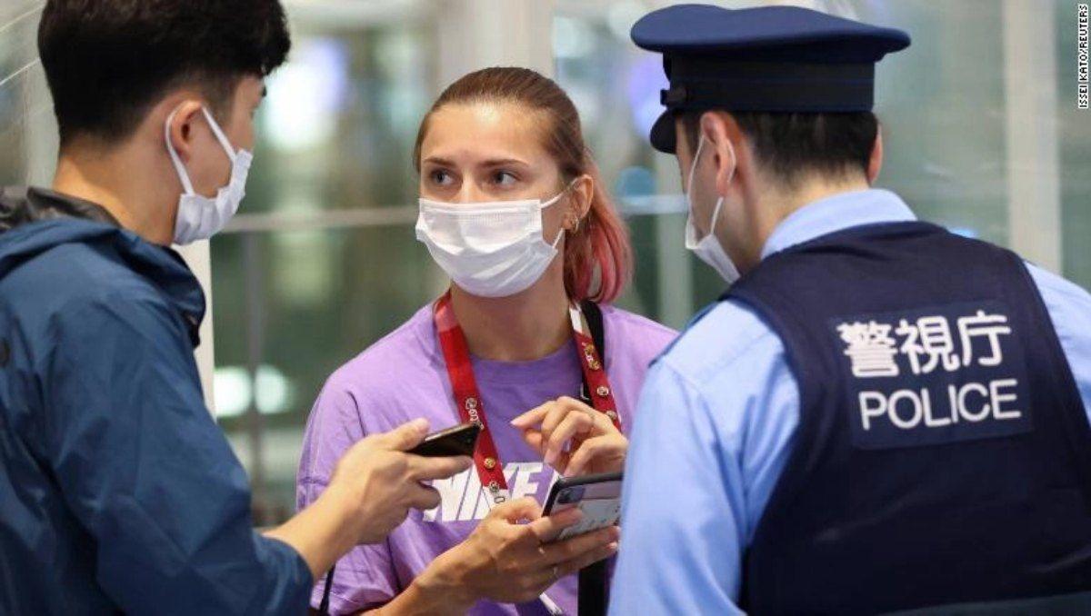 Kristsina Tsimanuskaia podrá ir de Tokio 2020 a Polonia como asilada