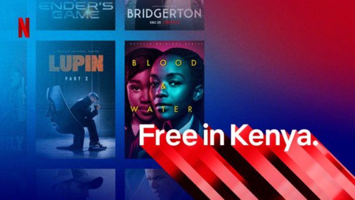 Netflix ensaya un modelo gratuito con limitaciones en Kenia.