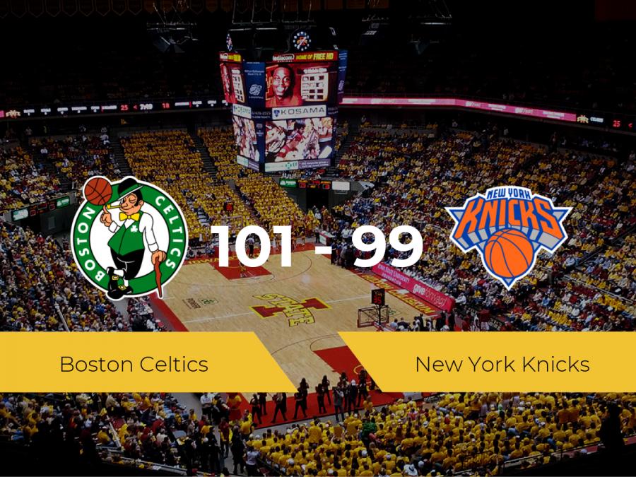 Boston Celtics vence a New York Knicks (101-99)