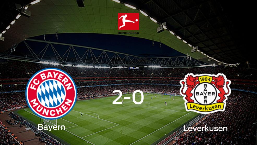 Resumen, Resultado, Goles y Tarjetas de Bayern de Múnich vs. Bayer Leverkusen de la Bundesliga (2-0)