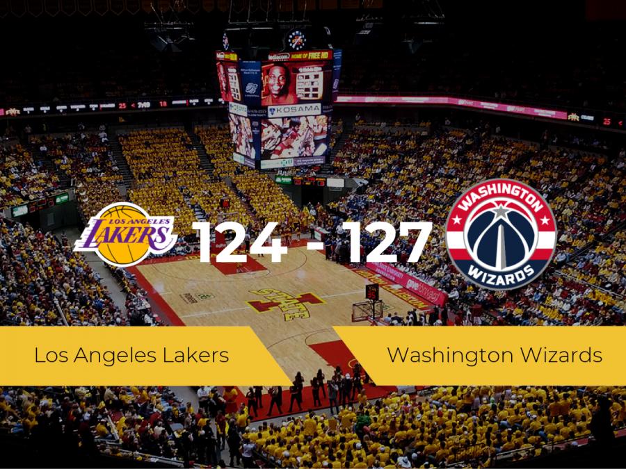Washington Wizards consigue ganar a Los Angeles Lakers (124-127)