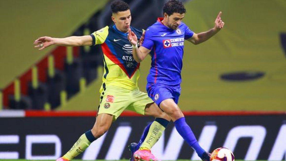 El duelo estelar de la jornada 15 de la LigaMX entre America y Cruz Azul culminó con empate a 1. | Foto: depor.com