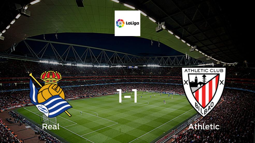 Real Sociedad - Athletic: Resumen, Resultados, Goles, Tarjetas del encuentro de LaLiga