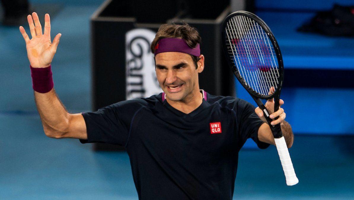 Roger Federer sufrió una dura lesión en el 2020