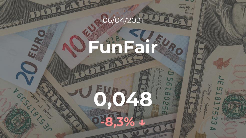 Cotización del FunFair del 6 de abril