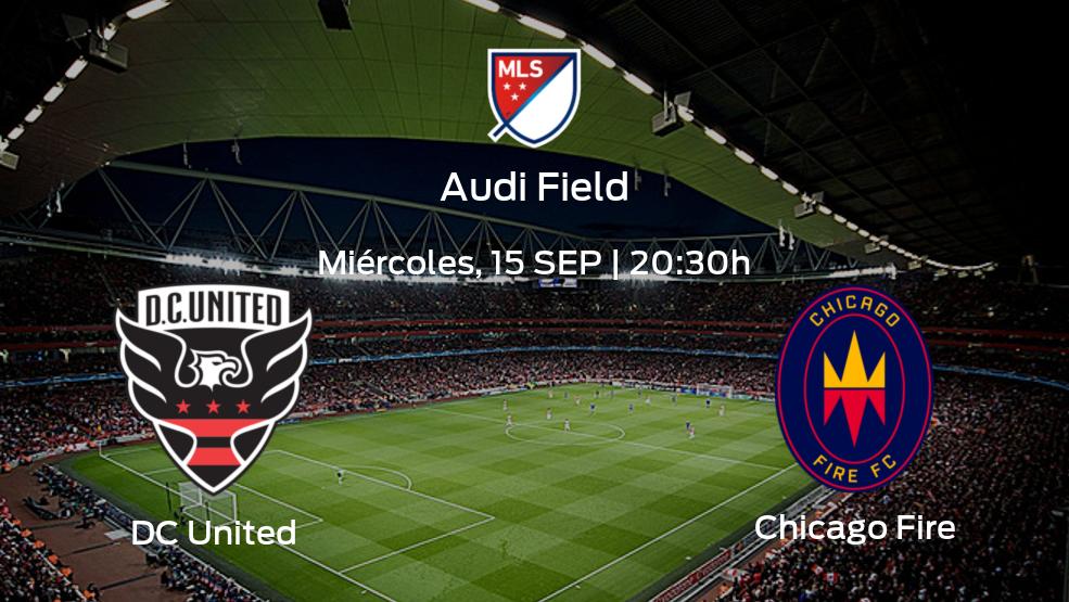 DC United vs Chicago Fire   Horario, alineaciones y detalles de su duelo de la jornada 32