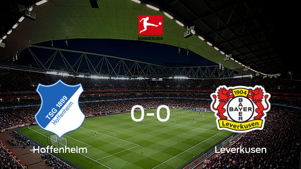 Hoffenheim - Bayer Leverkusen (0-0): Mira cómo fue su choque en el Prezero Arena durante la jornada 28