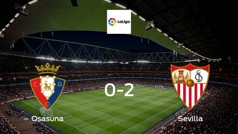 Sevilla se lleva los tres puntos frente a Osasuna (2-0)