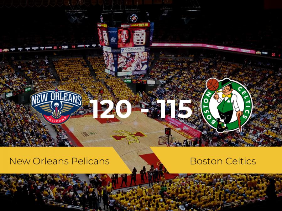 New Orleans Pelicans logra la victoria frente a Boston Celtics por 120-115