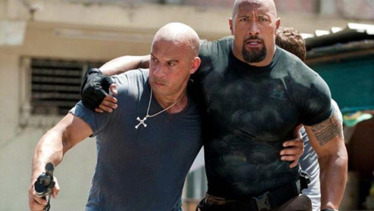 La rivalidad entre Dwayne Johnson y Vin Diesel es bien conocida en la industria del cine.