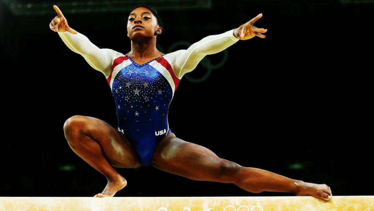 Simone Biles tendrá que superarse para lograr el oro en la viga.