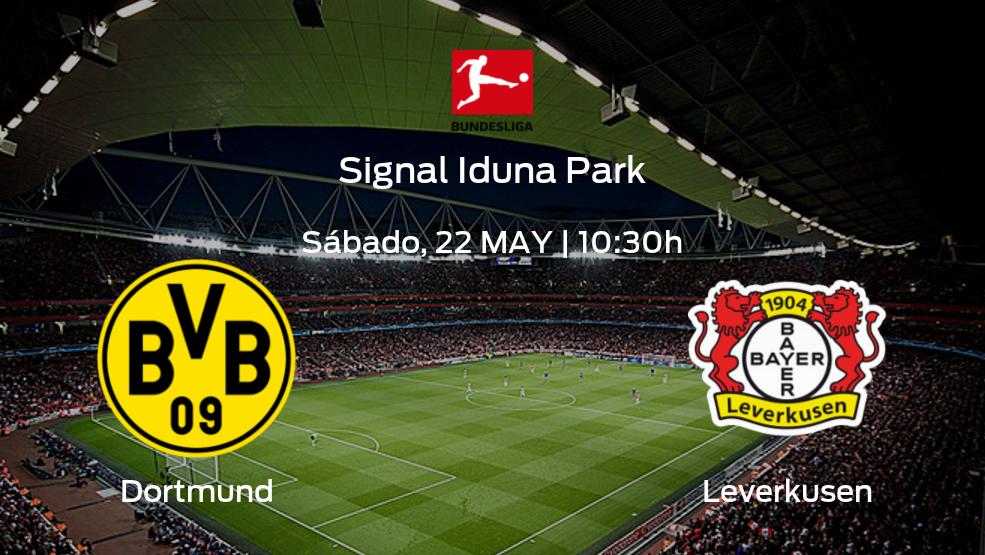 Dortmund vs Leverkusen | Horario, alineaciones y detalles de su choque de la jornada 34