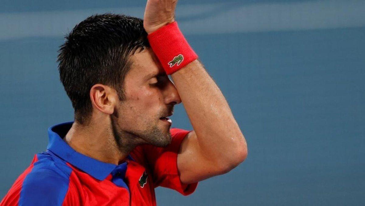 Novak Djokovic dijo estar destruido tras la derrota.