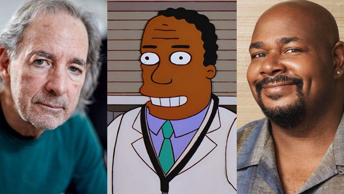El nuevo actor de doblaje en Los Simpson es afroamericano como el personaje
