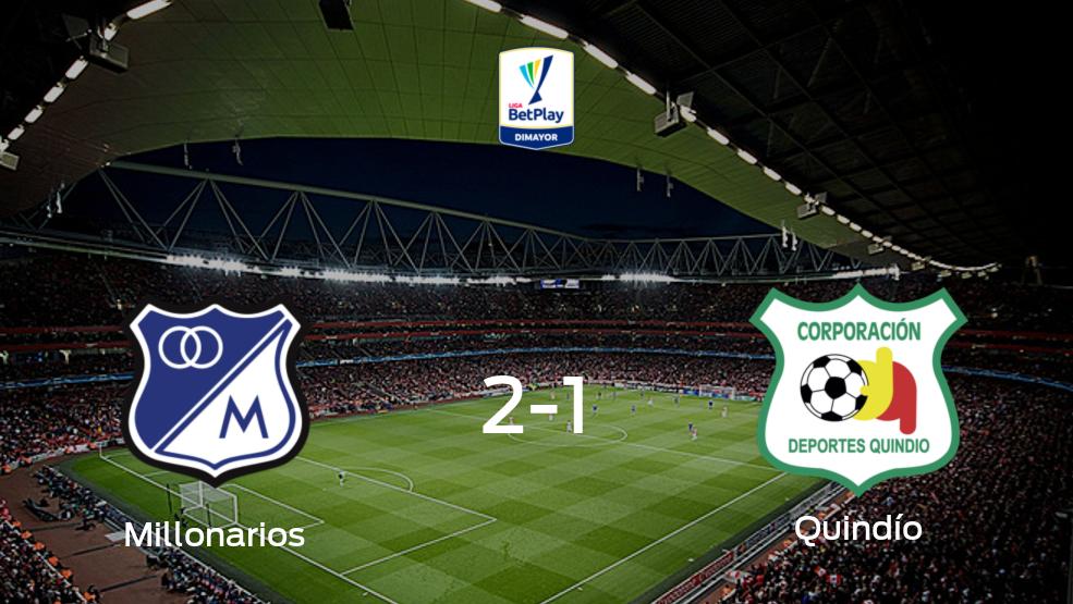Millonarios - Deportes Quindío (2-1): Mira cómo fue su choque en el Nemesio Camacho El Campín durante la jornada 2