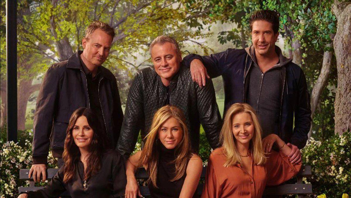 Jennifer Aniston contó el impacto emocional que tuvo la reunión de Friends en sus compañeros.
