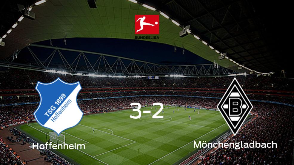 Hoffenheim - Borussia Mönchengladbach: Resumen, Resultados, Goles, Tarjetas del partido de la Bundesliga