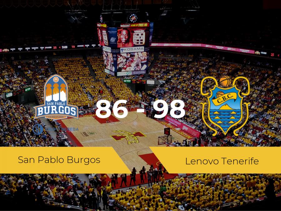 El Lenovo Tenerife logra vencer al San Pablo Burgos (86-98)