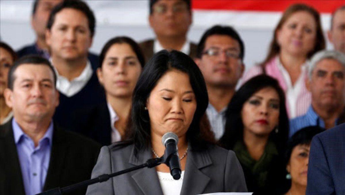 Keiko Fujimori podría no solo haber perdido la presidencia del Perú sino también terminar en la cárcel.