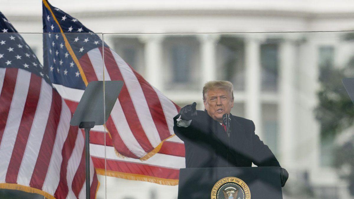 Donald Trump agradeció a las personas que lo acompañaron durante estos cuatro años