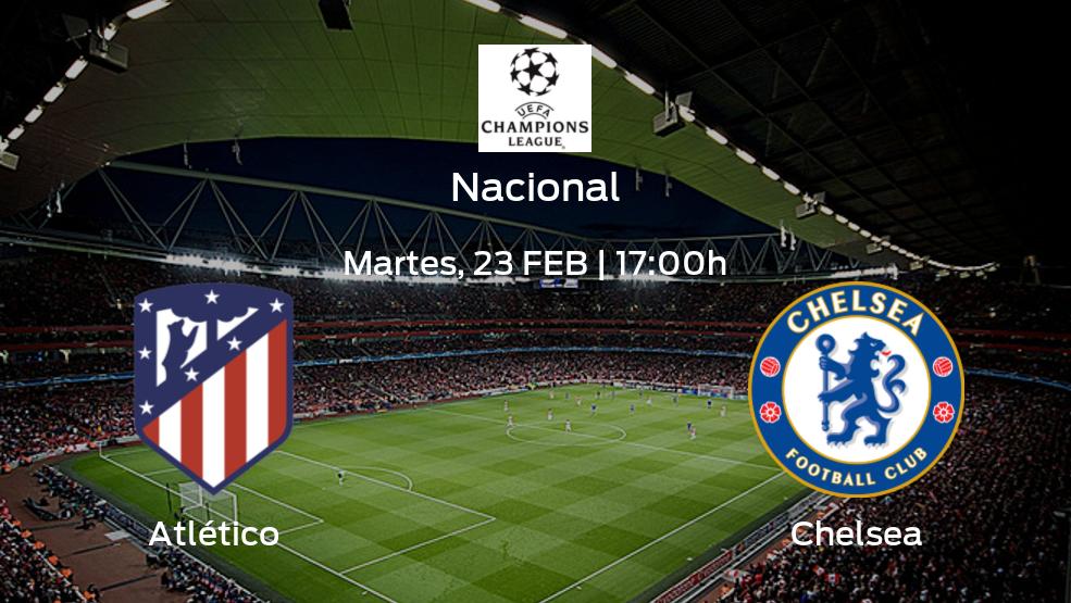 Previa del encuentro: Atlético de Madrid recibe a Chelsea en la primera jornada