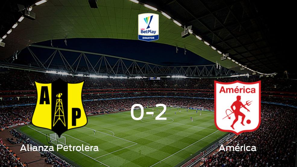 No te pierdas el resumen del partido Alianza Petrolera vs América de Cali de la jornada 15 del Torneo Apertura 2021 (2-0)